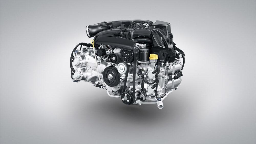 Горизонтально-оппозитный двигатель