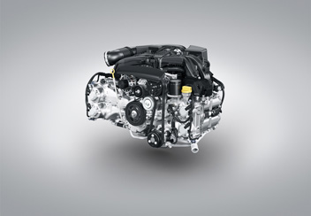 Горизонтально- оппозитный двигатель